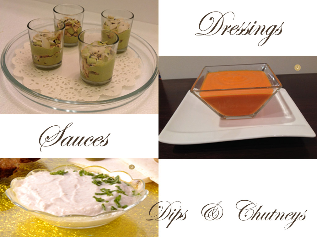 DIPS, SAUCES AND CHUTNEYS