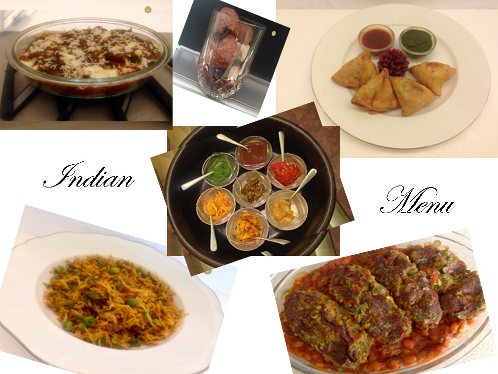 INDIAN MENU [11TH MENU]